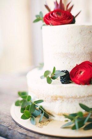 Kwiaty - zdobienia do tortów piętrowych poniżej 6 kg